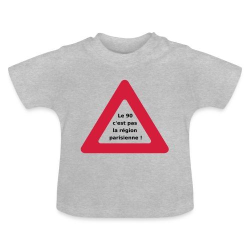 90_pas_region_parisienne - T-shirt Bébé