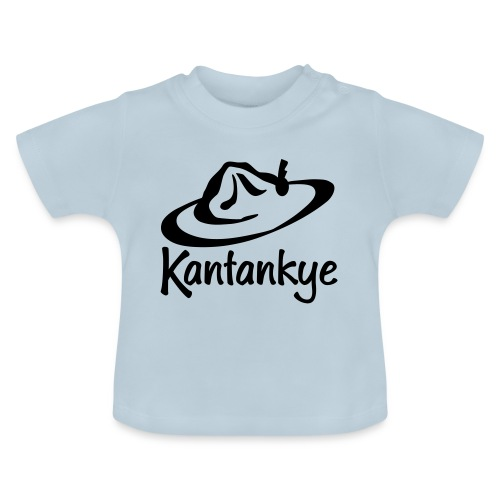 logo hoed naam - Baby T-shirt