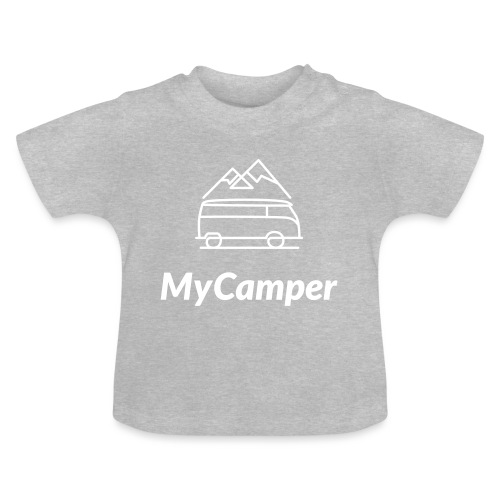MyCamper Logo Weiss - Baby T-Shirt