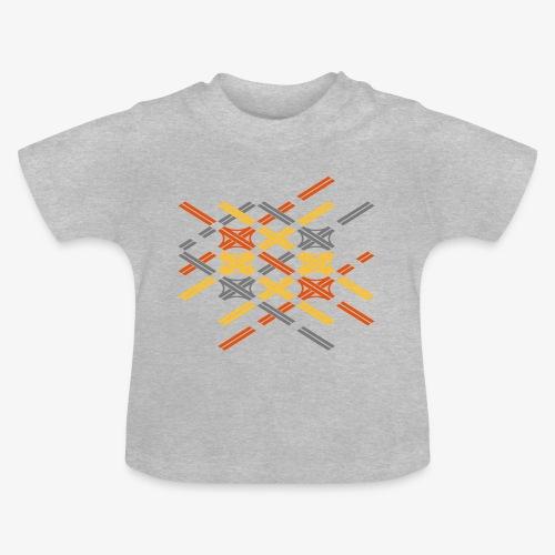 Autobahnkreuze Fragment bunt - Baby T-Shirt