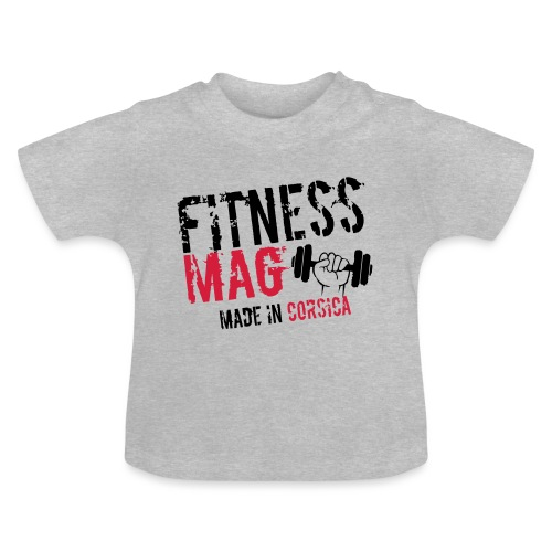 Fitness Mag made in corsica 100% Polyester - T-shirt Bébé