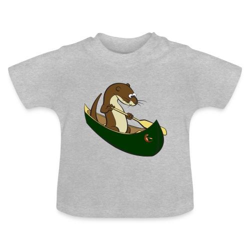 greencanoewithsticker - Baby T-Shirt