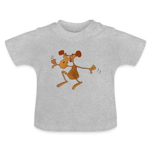 elch huepft - Baby T-Shirt