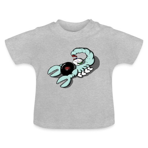 Space Scorpions?! (Colour) - Baby T-Shirt