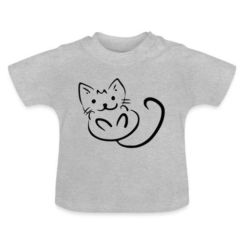 Baby Katze - Baby T-Shirt