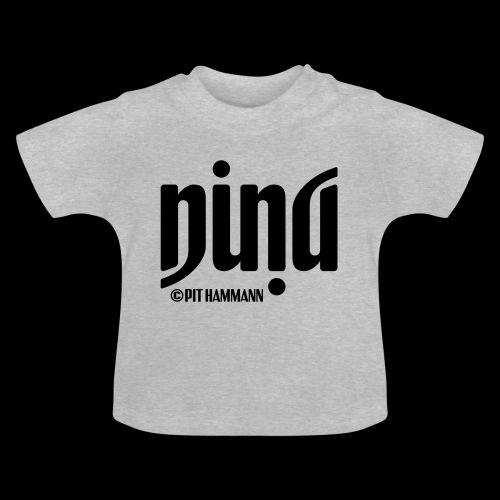 Ambigramm Nina 01 Pit Hammann - Baby T-Shirt