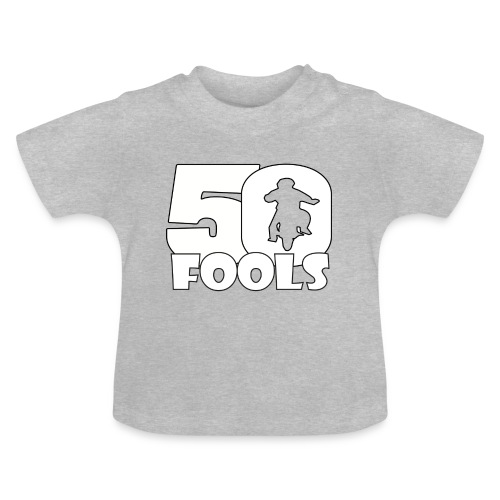 50FOOLSLOGOSPREADSHIRT png - Baby T-shirt