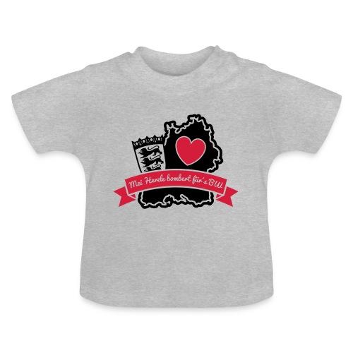 Herzle BW - Baby T-Shirt