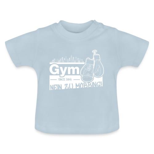 Nein zu Mobbing Men Druckfarbe weiß - Baby T-Shirt
