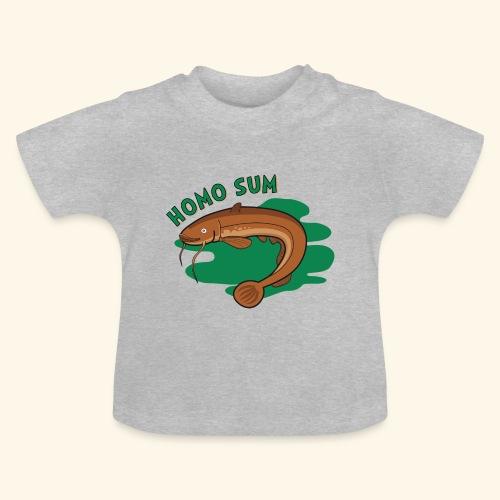 Homo sum ;) - Koszulka niemowlęca