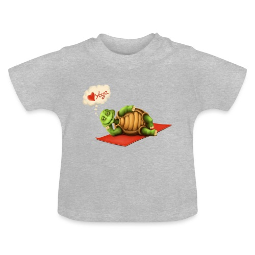 Love-Yoga Turtle - Baby T-Shirt