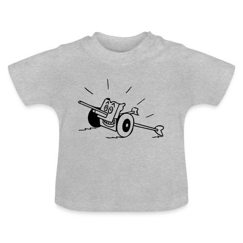 Panzerabwehrkanone - Baby T-Shirt