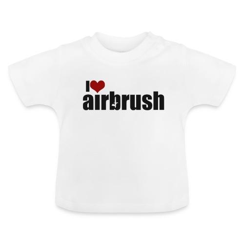 I Love airbrush - Baby T-Shirt