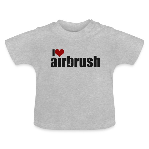 I Love airbrush - Baby T-Shirt