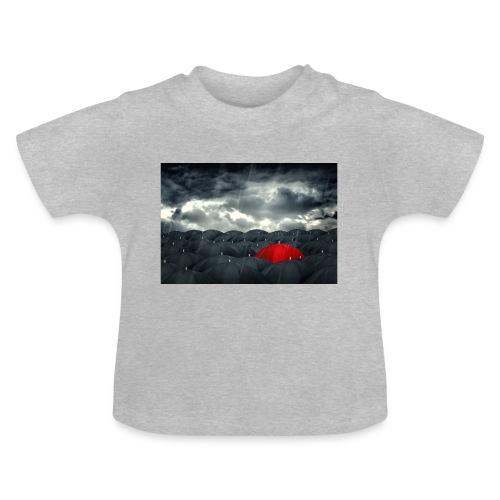 Der rote Regenschirm - Baby T-Shirt