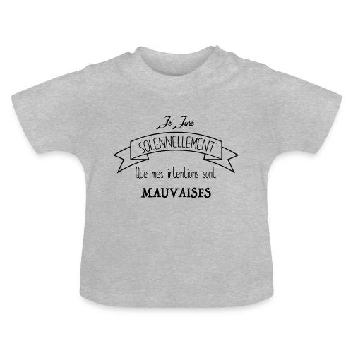 Je jure solennellement - T-shirt Bébé