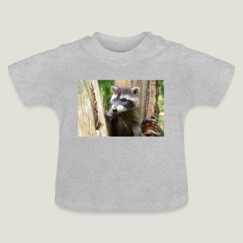 Junger Waschbär - Baby T-Shirt