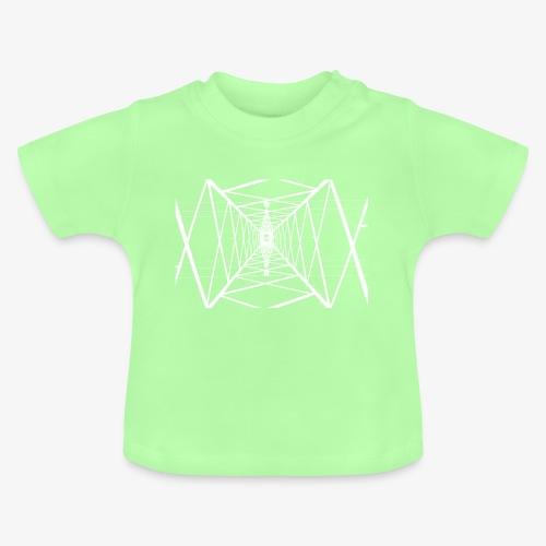 Quermast V2 Weiß - Baby T-Shirt
