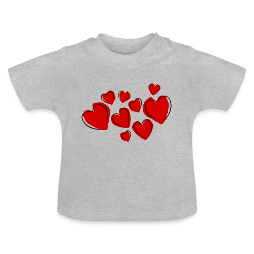 hearts herzen - Baby T-Shirt