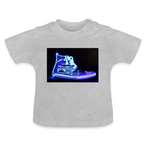 Jordan Schuh Lightpainting - Baby T-Shirt
