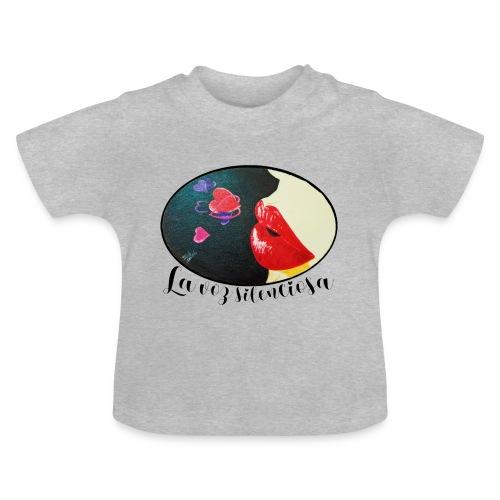 La Voz Silenciosa - Besos - Camiseta bebé