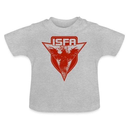 isfa logo 1c rot - Baby T-Shirt