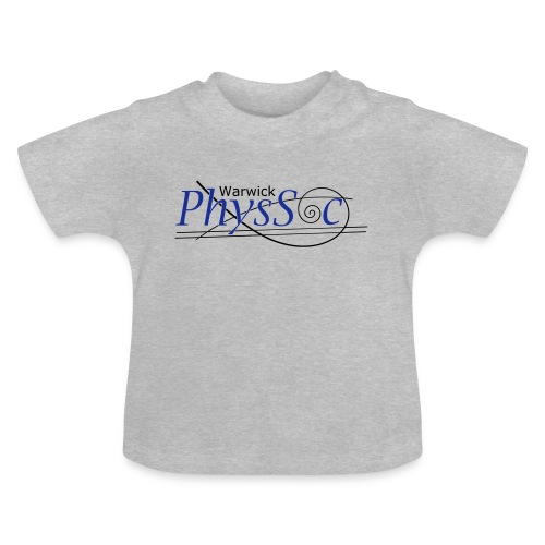 Official Warwick PhysSoc T Shirt - Baby T-Shirt