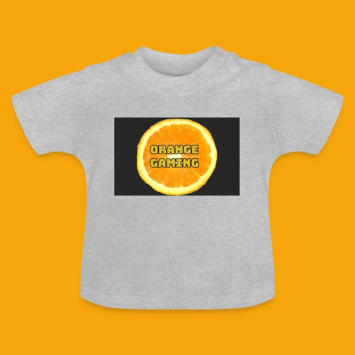 Orange_Logo_Black - Baby T-Shirt