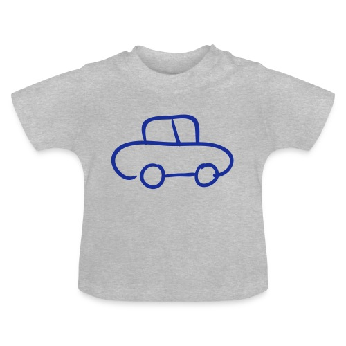 Van Line Drawing Pixellamb - Baby T-Shirt