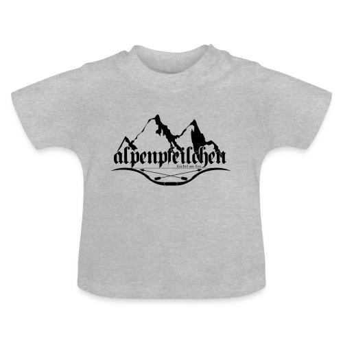 Alpenpfeilchen - Logo - Baby T-Shirt