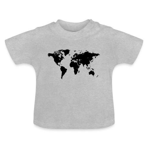 World Map - Baby T-Shirt