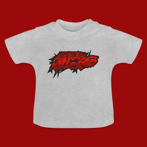 Auftragskillerx2 Schrift - Baby T-Shirt