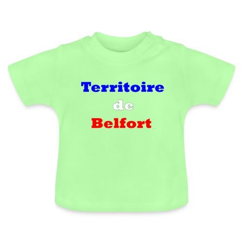 Territoire Belfort Tricolore - T-shirt Bébé