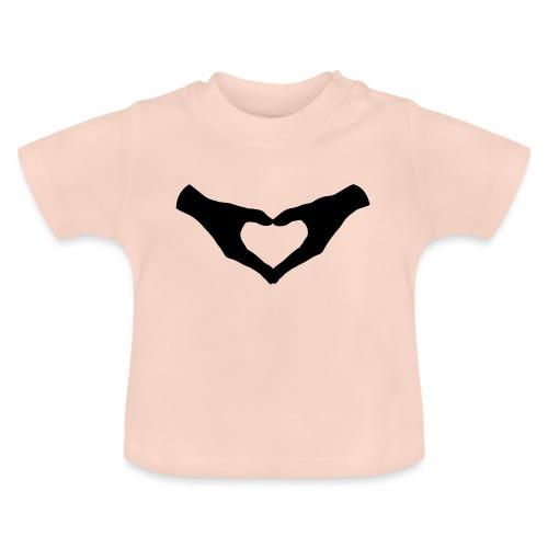 Herz Hände / Hand Heart 2 - Baby T-Shirt