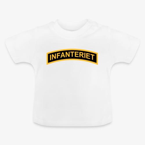 INFANTERIET 2-färg båge - Baby-T-shirt