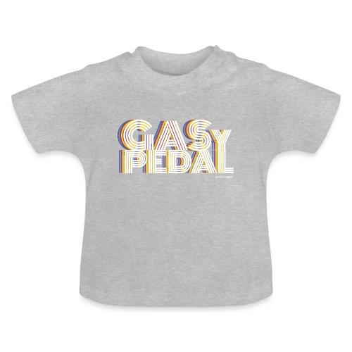 GAS Y PEDAL - Camiseta bebé
