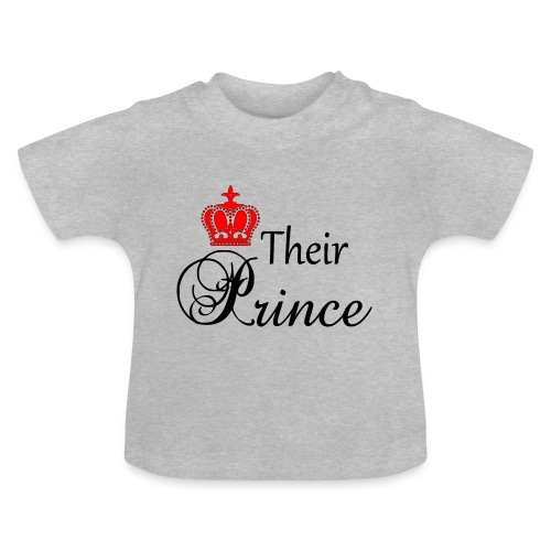 Their Prince - Baby-T-shirt