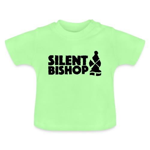 Silent Bishop Logo Groot - Baby T-shirt