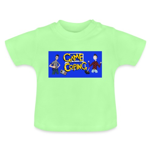 Game Coping Happy Banner - Baby T-Shirt