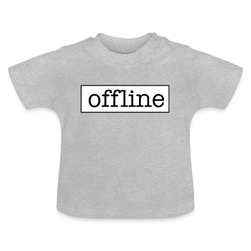 Officially offline - Baby T-shirt
