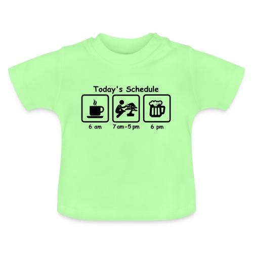Picto today_schedule Bonsaï - T-shirt Bébé