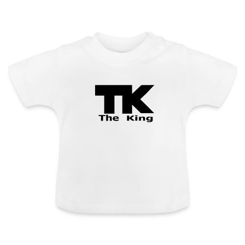 The King med ram - Baby-T-shirt