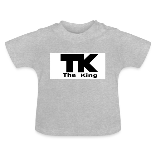The King med ram - Baby-T-shirt