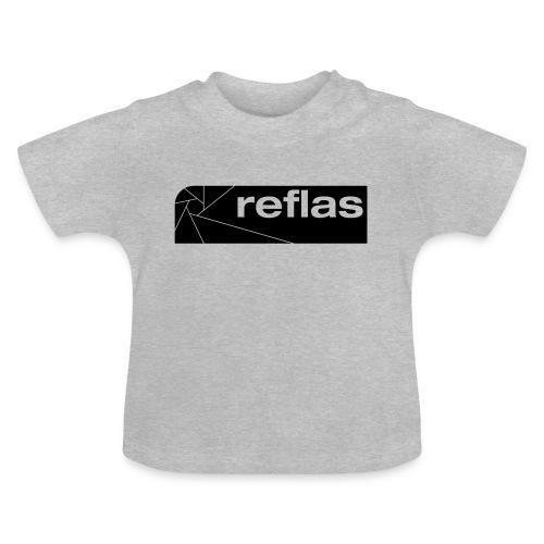 Reflas Clothing Black/Gray - Maglietta per neonato