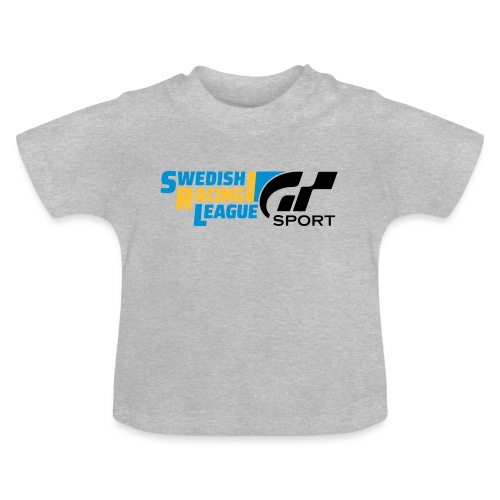 Swedish Racing League GT Sport svart - Baby-T-shirt