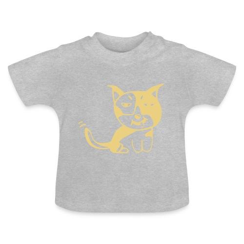 Hund orange - Baby T-Shirt