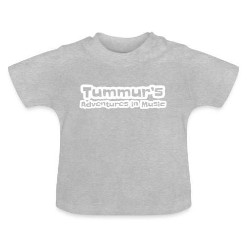 TAim Full transparent white stroke - Baby T-Shirt