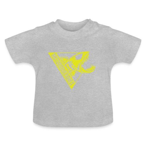 Logo Motoboquerones amarillo - Camiseta bebé