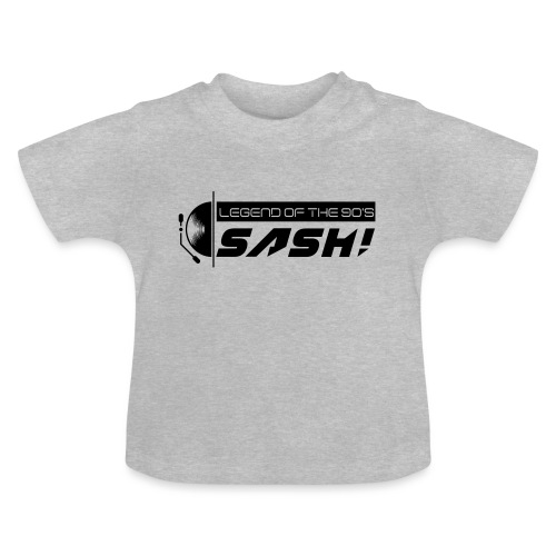 DJ SASH! Turntable 2020 Logo - Baby T-Shirt