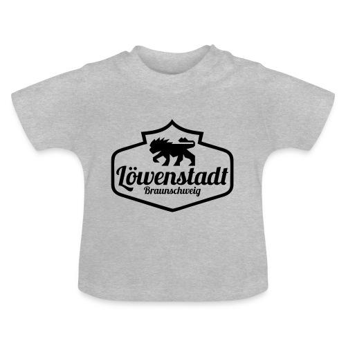 Löwenstadt Design 1 schwarz - Baby T-Shirt